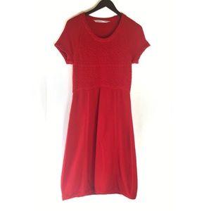 Athleta Alta Red Sweater Dress